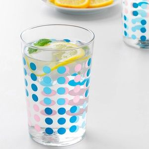 Set of 6 Dotted Glasses NWT
